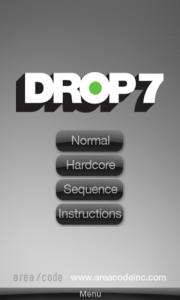 Drop7 - Difficulty settings
