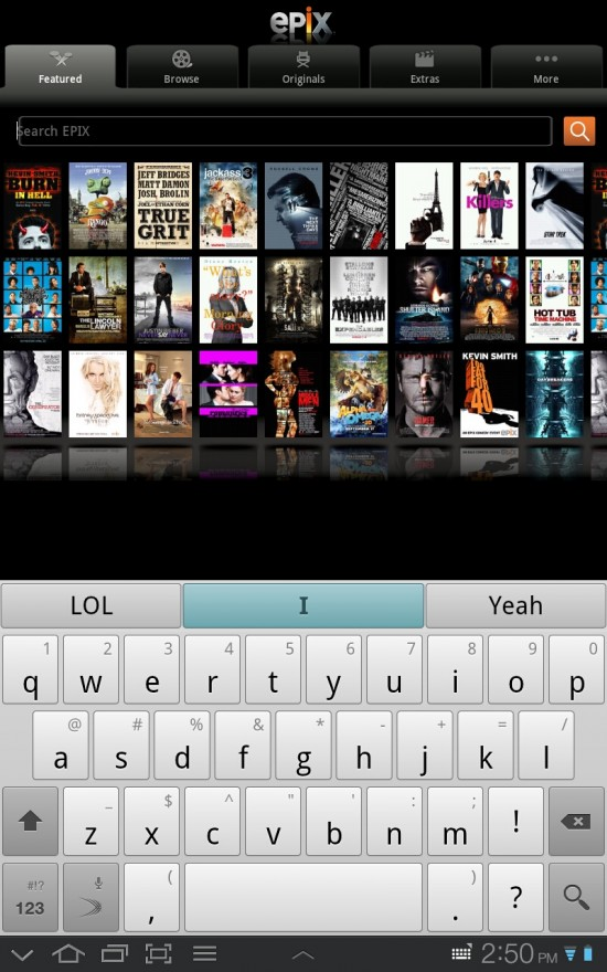 EPIX – stream full Movies to your Android phone or tablet