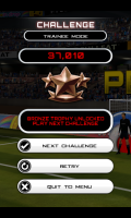 Flick Soccer - Challenge game over