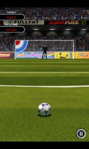 Flick Soccer - Challenge gameplay
