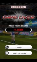 Flick Soccer - Crossbar game over