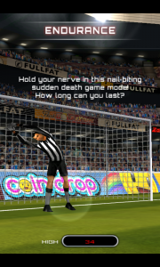 Flick Soccer - Endurance instructions