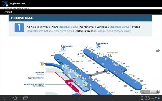 FlightPredictor, an app for Flight Tracking & Airport Maps