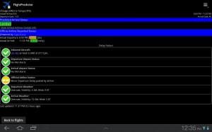 FlightPredictor Flight Details