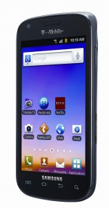 Galaxy S Blaze 4G Angle View