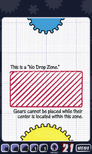 Geared - No Drop Zone explanation