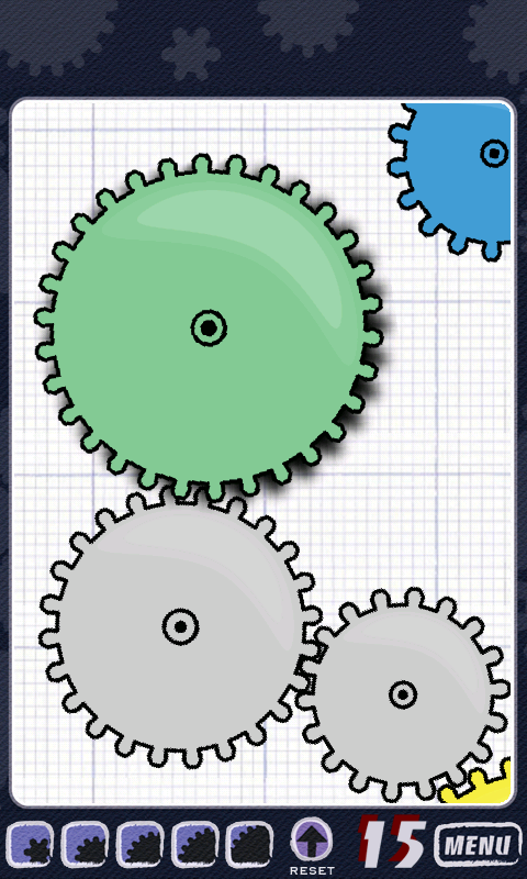 Geared – a Tricky Challenging Logic Game of Gears