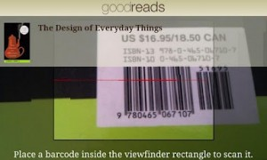 Goodreads - Barcode scan your own library