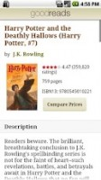 Goodreads - Book profile, description and review access