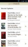 Goodreads - Recent updates