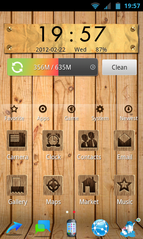Hi Launcher – check out this cool New app to Customize your Android home screen