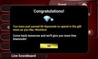 Live Blackjack 21 Pro - Frequent rewards