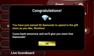 Live Blackjack 21 Pro - Frequent rewards