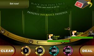 Live Blackjack 21 Pro - Set time to bet before dealing