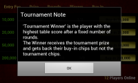 Live Blackjack 21 Pro - Tournament instructions