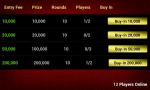 Live Blackjack 21 Pro - Tournaments available