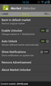 Market Unlocker - Enabled