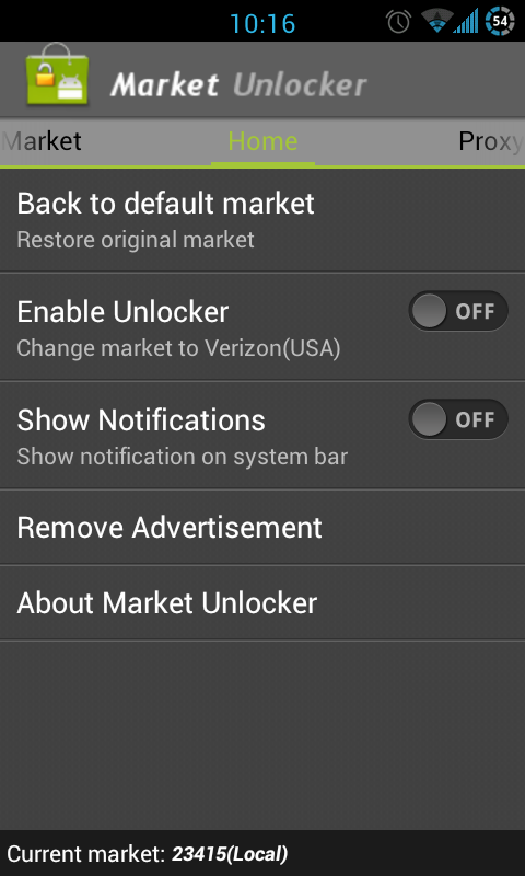 Market Unlocker. Here's how to unlock Android Market, Amazon App Store or Paid apps Unavailable in your Country!