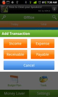Money Lover Add Transaction 1