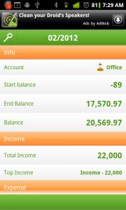 Money Lover Monthly Report