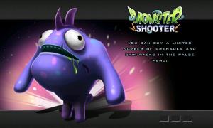 Monster Shooter - Splash page