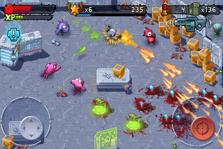 Monster Shooter an HD arcade Shoot 'em game you should check out!