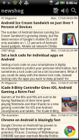 Newshog Google News Reader Search for Android