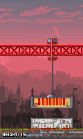 Pixel Towers - Carefully drop storeys