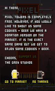 Pixel Towers - Cookies & Beer links