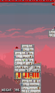 Pixel Towers - Yellow storeys expand