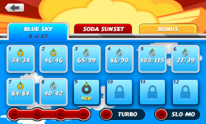 Puffle Launch - Level select
