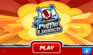 Puffle Launch - Main screen