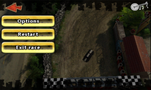 Reckless Racing - Pause menu