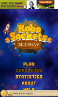 RoboSockets - Main menu