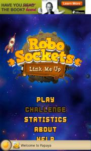 RoboSockets - Main menu