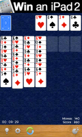 Solitaire - Blue background