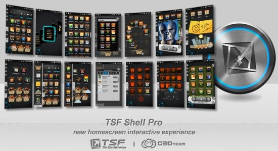 TSF Shell Pro, a Gorgeous & Interactive Launcher, definitely launching!