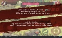 Third Blade Death Screen