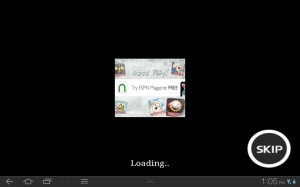 Third Blade Loading Ad