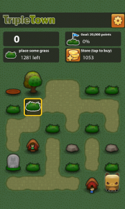 Triple Town - Level beginning