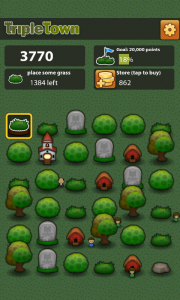 Triple Town - Near the end of level