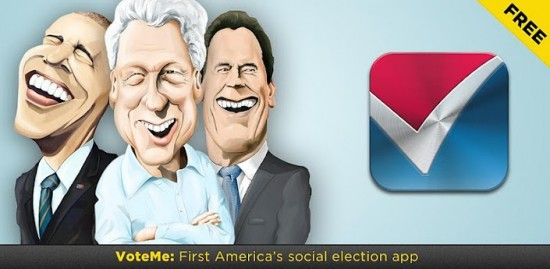 Become America's First Social President with VoteMe App