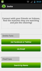 Vubooo - Invite