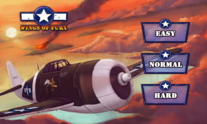 Wings of Fury - Difficulty settings