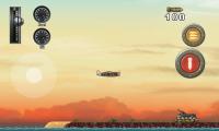 Wings of Fury - Flight over island
