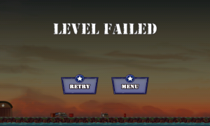 Wings of Fury - Level failed