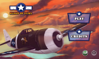 Wings of Fury - Menu