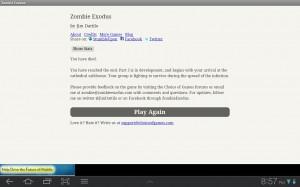 Zombe Exodus Died