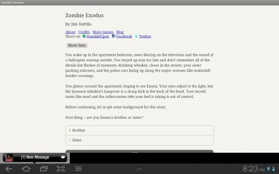 Zombie Exodus is the modern day Choose Your Own Adventure