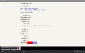 Zombie Exodus Stats